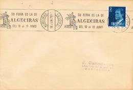 34612, Carta ALGECIRAS (Cadiz) 1978. Rodillo Especial FERIA, Fiestas - 1931-Hoy: 2ª República - ... Juan Carlos I