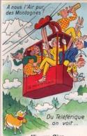 Carte à Système  : Vic Sur Cere (15) Du Téléphérique   ...  Ski  Montagne   Ed Gaby  166 Non  Voyagée - Andere Gemeenten