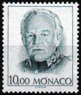 Timbre-poste Gommé Neuf** - Série Courante Effigie De S.A.S. Rainier III - N° 1809 (Yvert) - Principauté De Monaco 1991 - Monaco