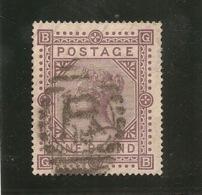 VICTORIA  ONE POUND SG129  1867 - 1840-1901 (Viktoria)