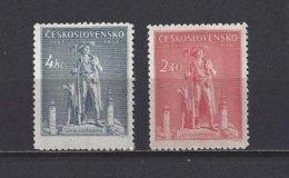 Tchécoslovaquie: 425/ 426 ** - Tchécoslovaquie