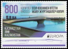2018Kazakhstan1076Europe CEPT / Bridges - 2018
