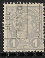 Luxembourg 1906 Nr. 27B - Voorafgestempeld