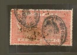 VICTORIA  5 POUND SG 137  1867 - 1840-1901 (Viktoria)