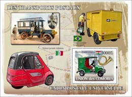 COMORES 2008 - Post Transports. YT 126, Mi 1849/BL1849, Sc 1014 - Comores (1975-...)