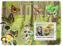 COMORES 2008 - Mycologists & Mushrooms. YT 135, Mi 2057/BL465, Sc 1056 - Isole Comore (1975-...)