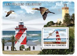 COMORES 2008 - Lighthouses & Birds. YT 138, Mi 1959/BL451, Sc 1034 - Komoren (1975-...)