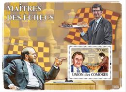COMORES 2008 - Chess Players. YT 143, Mi 2064/BL466, Sc 1064 - Comoros
