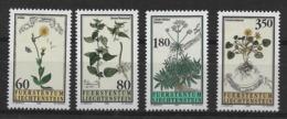 LIECHTENSTEIN 1995 Medicinal Plants MNH - Heilpflanzen