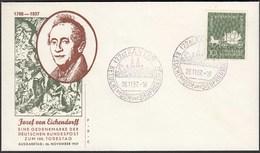 BRD Bund 1957 Mi. 280 Von Eichendorff Auf FDC XANTEN   (23500 - [7] República Federal