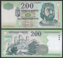 Ungarn - HUNGARY - 200 Forint Banknote 1998 Pick 178 UNC (1)  (25648 - Hongarije