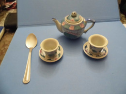 Service à Thé Ou Café Miniature - Autres