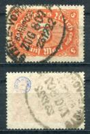 D. Reich Michel-Nr. 174a Vollstempel Bahnpost - Geprüft - Gebraucht