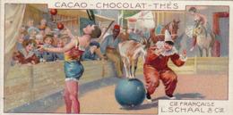 Chromo Compagnie Française L. Schaal Cirque Clown Chèvre - Sonstige