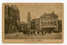 D229 - Zwolle - Groote Markt - Uitg H. V. O. Jaren 10 - 20 - Zwolle