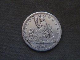 Monnaie FAUSSE  ETATS-UNIS - Émissions Pré-Fédérales