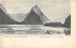 PIE-Z AR-19-1461 : MITRE PEAK MILFORD SOUND N.Z. - Neuseeland