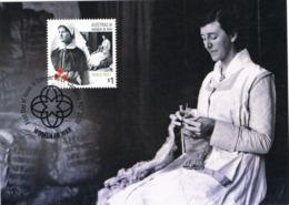 34616. Tarjeta Maxima CANBERRA (Australia) 2017.  WOMEN In WAR. World War I - Militares