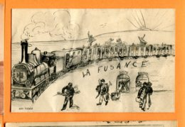 LAC071, La Fusance, Non  Circulée - Trains