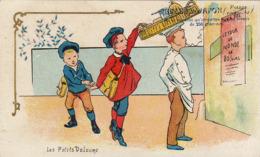 Chromo Perles Du Japon Voleur Panier Affiche Jules Verne - Altri