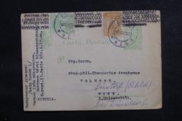 ROUMANIE - Entier Postal + Compléments Pour Wien Et Redirigé En 1922 - L 46843 - Entiers Postaux