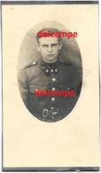 Oorlog Guerre Alfons Joos Buggenhout Soldaat Gesneuveld Berchem Antwerpen Hospitaal 1940 Hermans - Devotion Images