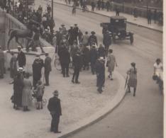 OUDE POSTKAART ZWITSERLAND - SCHWEIZ - BASEL - CAMION - AUTO - GEANIMEERD  1926 - BS Basel-Stadt
