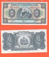 Haiti 2 Gourdes 1992 - Haïti