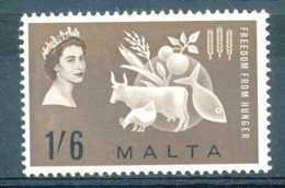 [73578]TB//**/Mnh-Malte 1963, Contre La Faim. - Against Starve