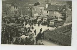 TRIE SUR BAISE - Départ Des Autobus - Ligne Castelnau - Tarbes - Autres Communes