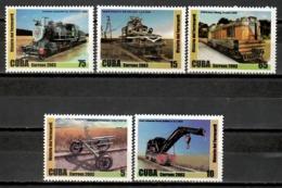 Cuba 2003 / Railways Trains MNH Trenes Züge / Cu11625  C1-1 - Trenes
