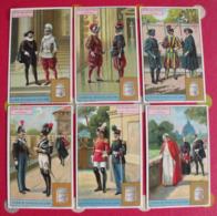 6 Chromo Liebig : Les Corps Armés Pontificaux. 1925. S 1167. Chromos. - Liebig