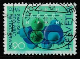 Switzerland  1992 The 100th Anniversary Of The Geneva Conference On Organic Nomenclature90c Multicoloured SW 1461 O Used - Switzerland