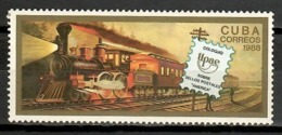 Cuba 1988 / Railways Trains UPAEP MNH Trenes Ferrocarriles Züge / Cu11714  C1-13 - Trenes