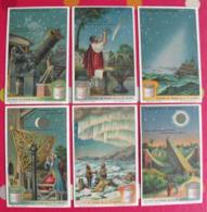 6 Chromo Liebig : Merveilles Lumineuses. 1925. S 1168. Chromos. - Liebig