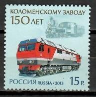 Russia 2013 Rusia / Railways Trains MNH Trenes Züge / Cu10703  4-28 - Trenes
