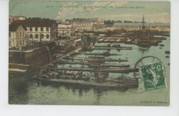 CHERBOURG - BATEAUX - Arsenal Maritime - La Station De Sous Marins - Cherbourg
