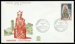 1964, Andorra Französische Post, 190, FDC - Postzegels