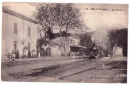 6007 - Villefort ( 48 ) - La Gare - N°13 - Jean Bernard éd. à Nimes - - Villefort