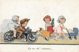 CPA (illustrateur)  ça Va Les Craneurs (petit Defaut) - Künstlerkarten