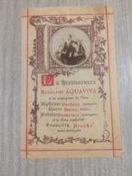 Santino Le Bienheureux Rodolphe Acquaviva - Santini