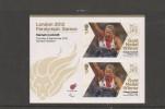 2012 LONDON PARALYMPIC GAMES GB GOLD MEDAL HANNAH COCKROFT - Verano 2012: Londres