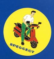 A.C.Scooter PEUGEOT - Autocollants