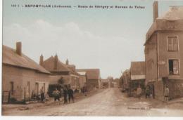 RENNEVILLE  -  Route De Sévighy Et Bureau De Tabac - Autres Communes