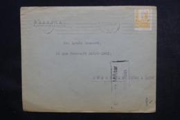 ESPAGNE - Cachet De Censure De San Sebastian Sur Enveloppe Commerciale Pour La France En 1938 - L 46860 - Marques De Censures Nationalistes
