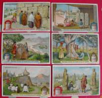 6 Chromo Liebig : Sanctuaires Populaires. 1924. S 1161. Chromos. - Liebig