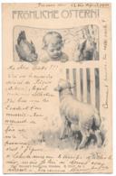CPA ..ILLUSTRATEUR...    THEO STROEFER..  FRÖHLICHE  OSTERN...1900... S/ XXXV..N°3..BE...VOIR SCAN - Künstlerkarten