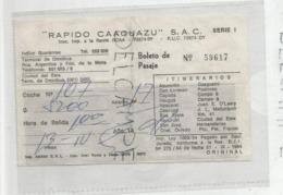 Rapido Caaguazu (Argentine) - Monde