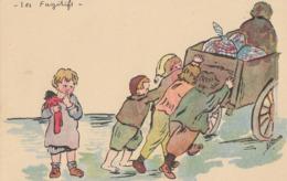 CPA (illustrateur)  Les Fugitifs - Künstlerkarten