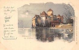 Switzerland Chateau De Chillon Castle AK 1899 - Switzerland